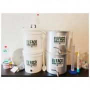 Kit para produzir cerveja em casa 10 litros Fundo Falso - Completo