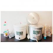 Kit para produzir cerveja em casa 20 litros Fundo Falso - Básico