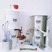Kit para Produzir Cerveja em Casa 20 litros - Intermediário - Bazooka