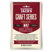 Levedura Mangrove Jacks m42 New World Strong Ale - 10g
