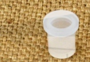 Peça central do tampão de borracha cinza de mini keg
