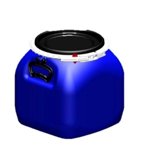 Bombona Fermentadora de plástico alimentício COM TAMPA - 20 litros