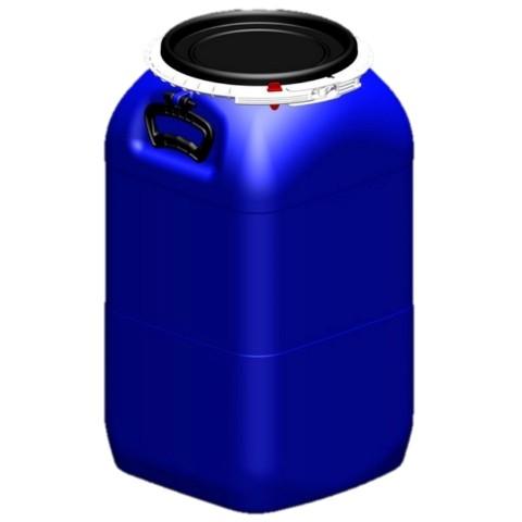 Bombona Fermentadora de plástico alimentício COM TAMPA - 50 litros