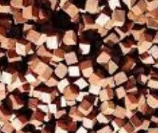Cubos de madeira amburana - 10g