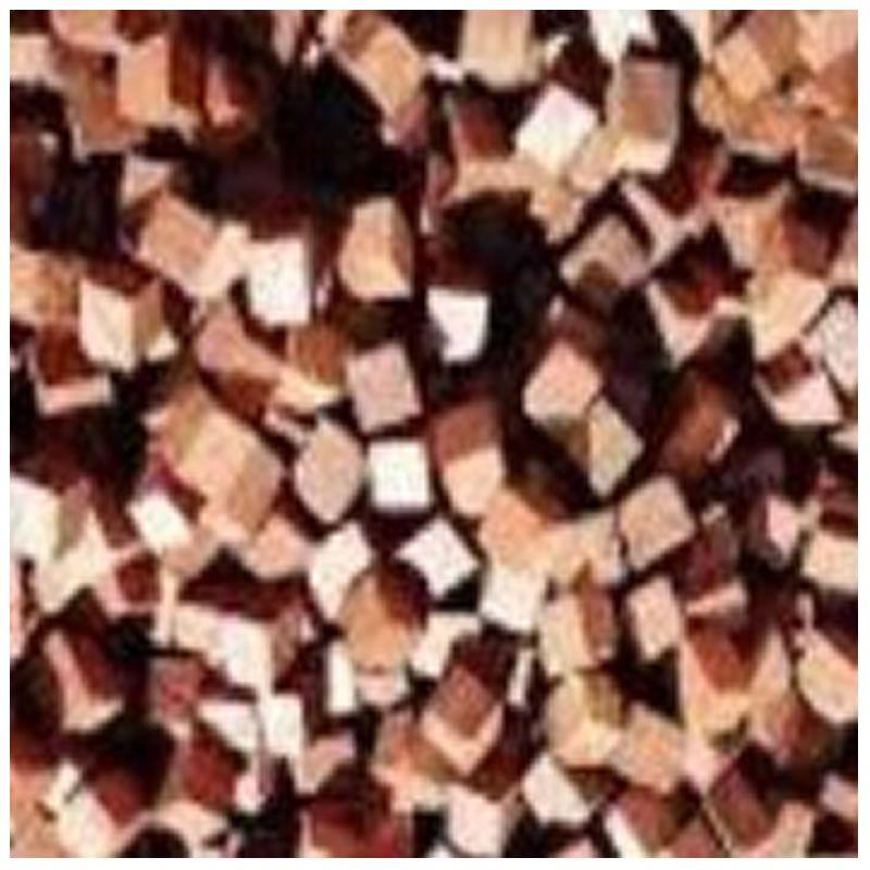 cubos de madeira jequitibá - 10g