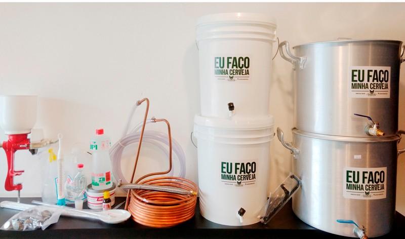 Kit Completo para produção de cerveja Sinnatrah 20l c/ Bazooka