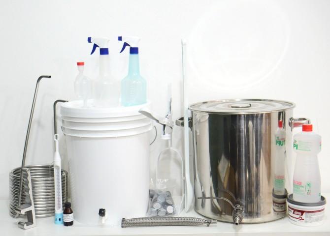 Kit  para produção de cerveja Sinnatrah Inox 20L