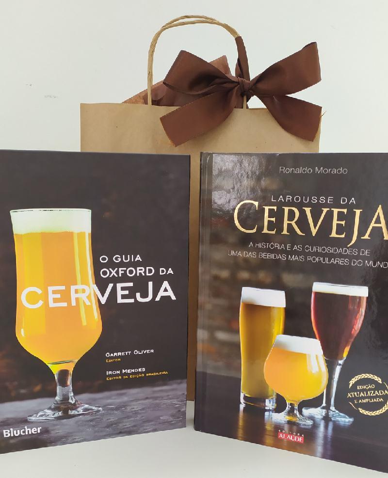 Kit Livro Larousse da Cerveja + Livro O Guia Oxford da Cerveja