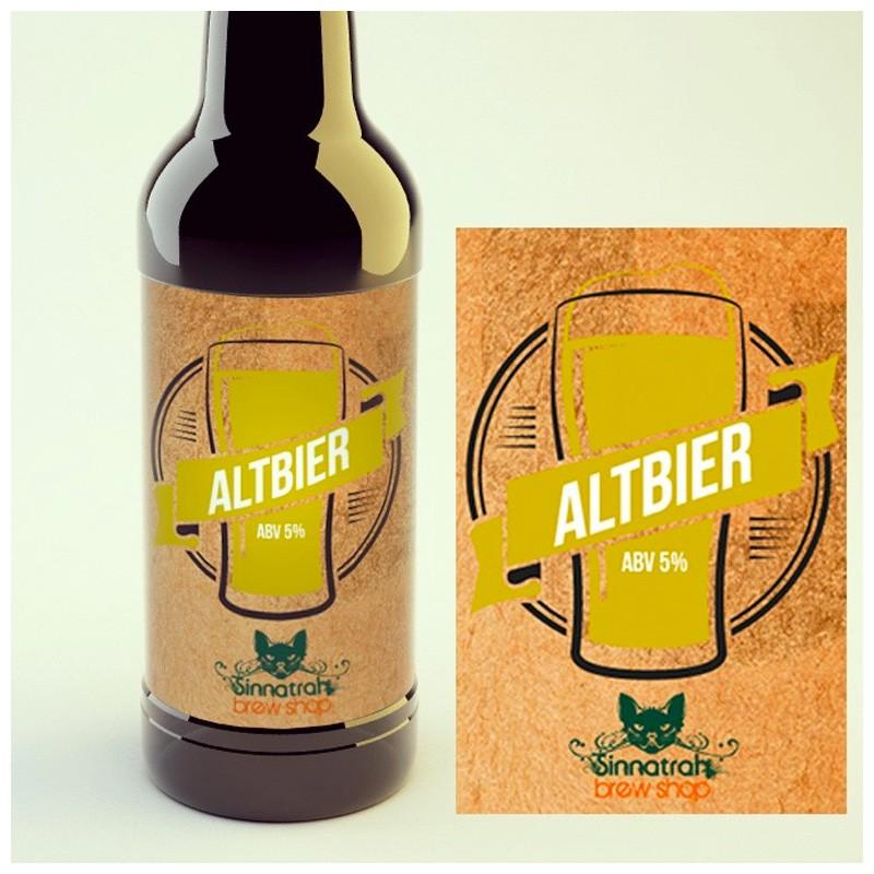 KIT para produção de 20 litros de cerveja do estilo Altbier