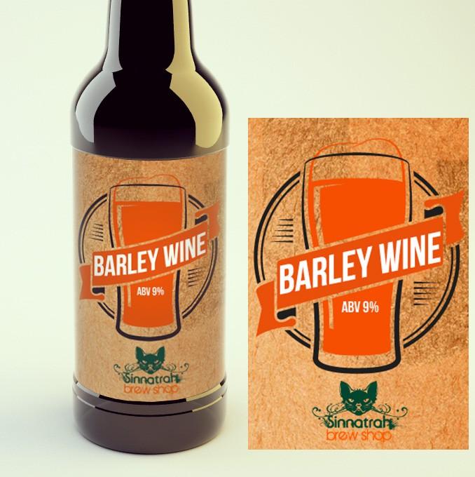 KIT para produção de 20 litros de cerveja do estilo American Barley Wyne