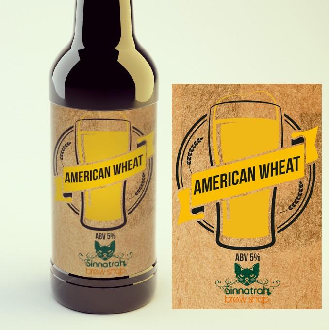KIT para produção de 20 litros de cerveja do estilo American Wheat