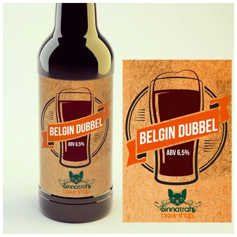 KIT para produção de 20 litros de cerveja do estilo Belgian Dubbel