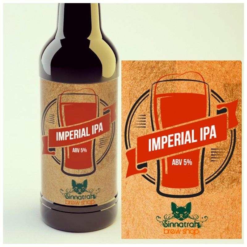 KIT para produção de 20 litros de cerveja do estilo Double IPA