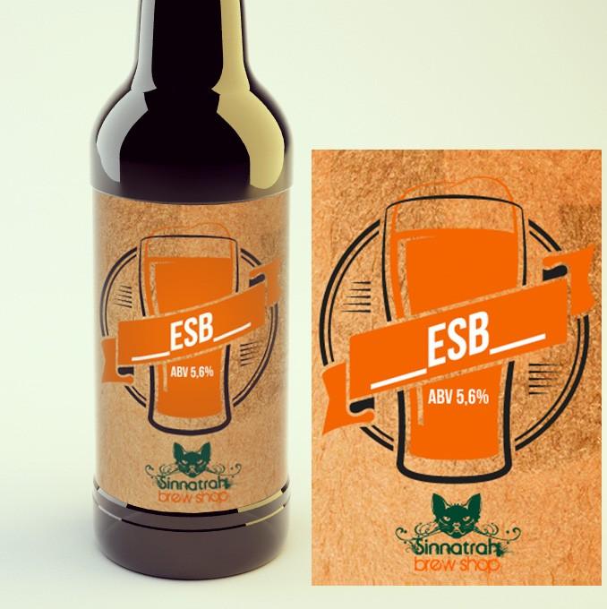 KIT para produção de 20 litros de cerveja do estilo Strong Bitter