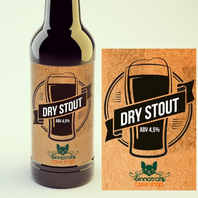 KIT para produção de 20 litros de cerveja do estilo Irish Dry Stout