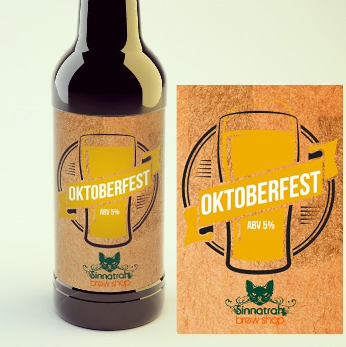 KIT para produção de 20 litros de cerveja do estilo Oktoberfest - Marzen