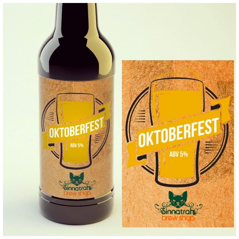 KIT para produção de 20 litros de cerveja do estilo Oktoberfest/Märzen