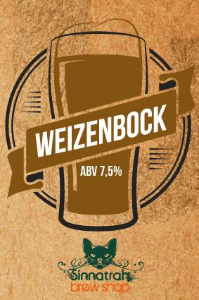 KIT para produção de 20 litros de cerveja do estilo Weizenbock
