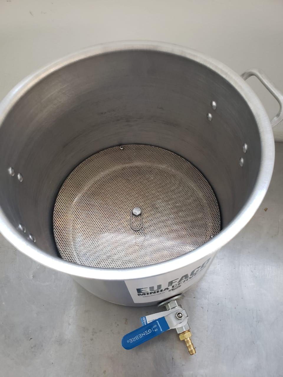Kit para Produzir Cerveja em Casa 10 litros - Intermediário - Fundo falso