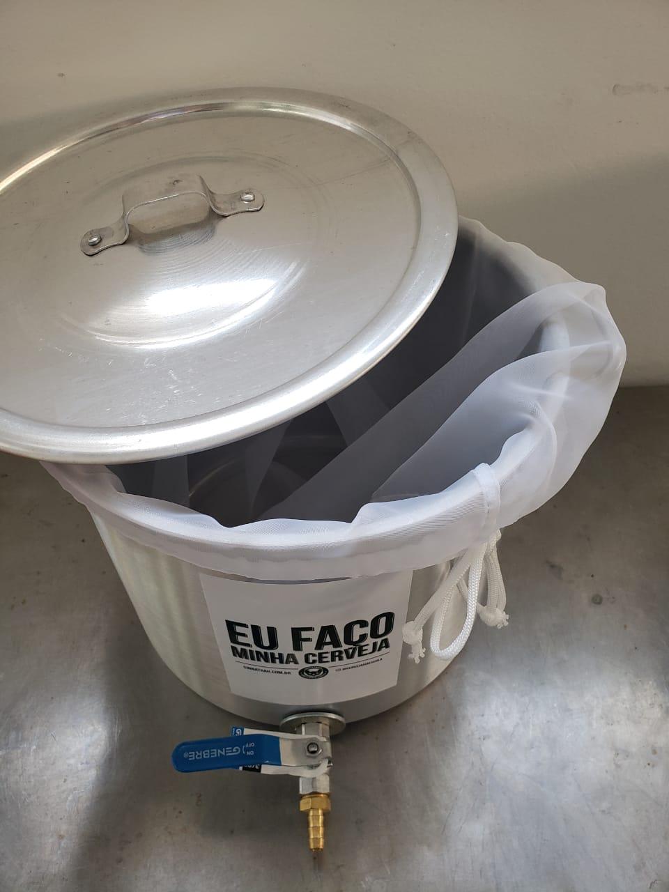 Kit para Produzir cerveja em casa 20 Litros - BIAB (Brew In a Bag)