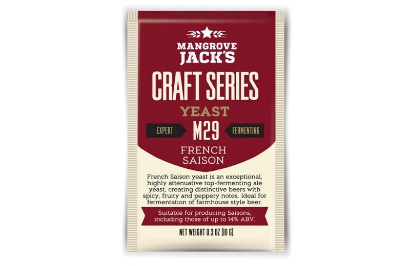 Levedura Mangrove Jacks French Saison M29 - 10g