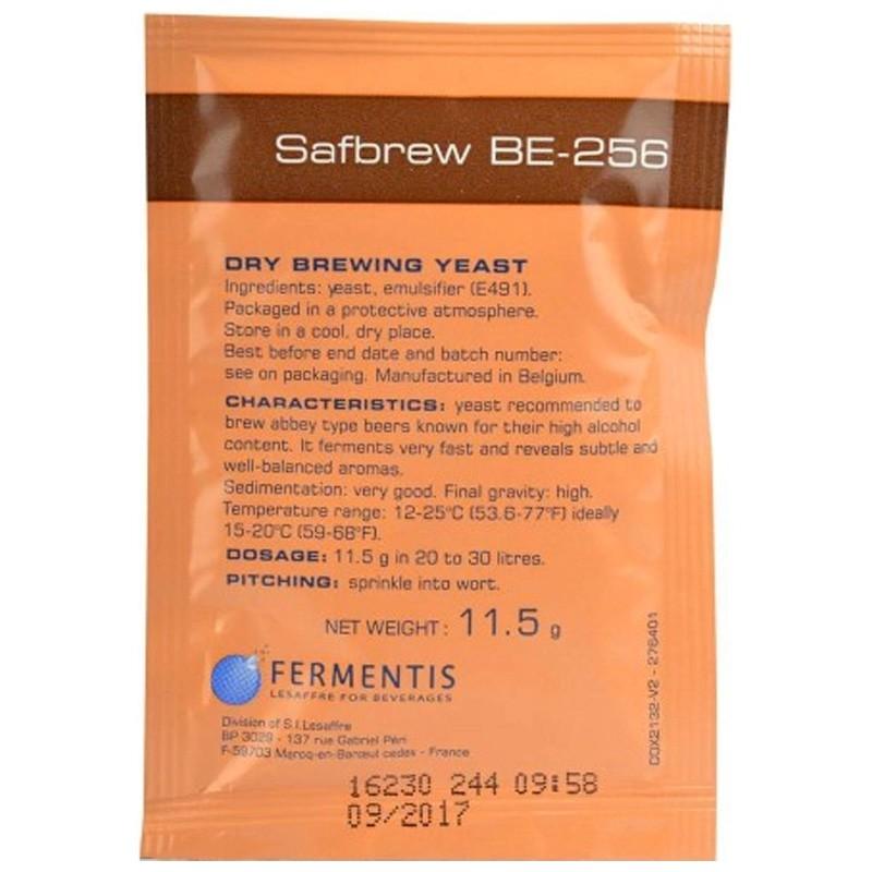 Levedura Safbrew BE-256 - Promoção Pague 1 leve 2