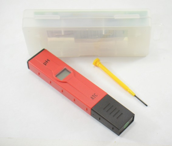 pHmetro Portátil pH: 0-14