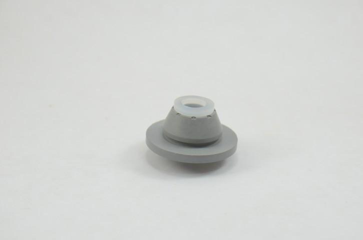 Tampão de Borracha Cinza para Mini Keg 5L (Reutilizável)
