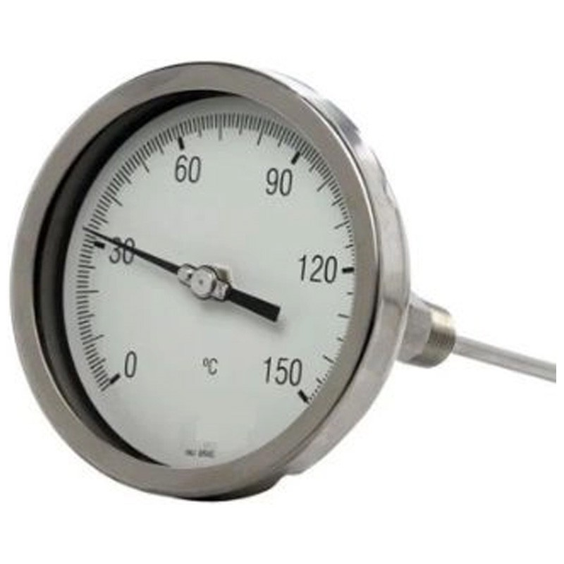 Termômetro em Inox com haste angular