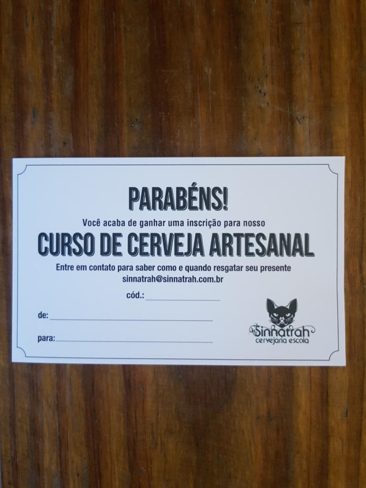 Vale Curso - Curso Básico de Produção Caseira de Cerveja Artesanal
