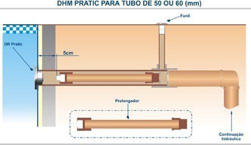 Dispositivo De Hidro Piscina Pratic Em Inox Sodramar 6 Peças