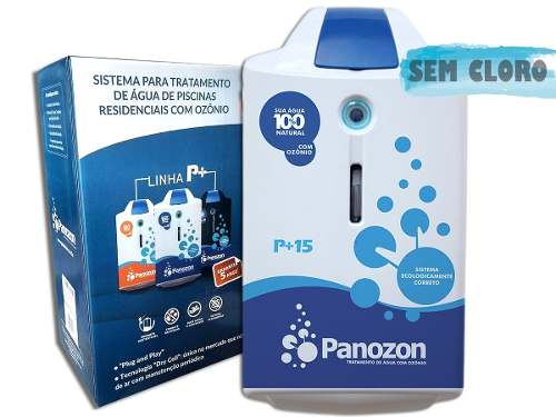 Ozonio Panozon P+15 - Para Piscinas e Spas De Até 15.000 Litros