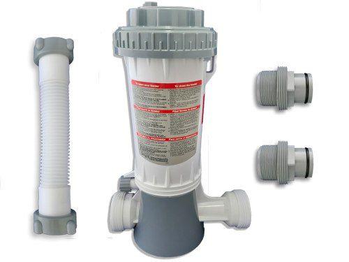 Tratamento De Água Com Ozônio Para Piscina P+100 Panozon 100 Mil Litros + Dosador de Cloro