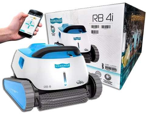 Robô Aspirador Rb4I  Automático Para Limpeza Piscinas Ate 15 M Sodramar