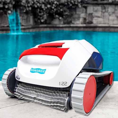 Robô Aspirador SS1 Automático Para Limpeza Piscinas de Até 10m - Sodramar