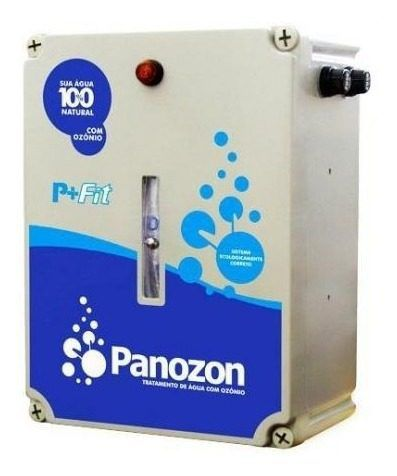 Ozonio - Panozon P+35 Fit - Para Tratamento Limpeza de Piscinas Até 45.000 Litros
