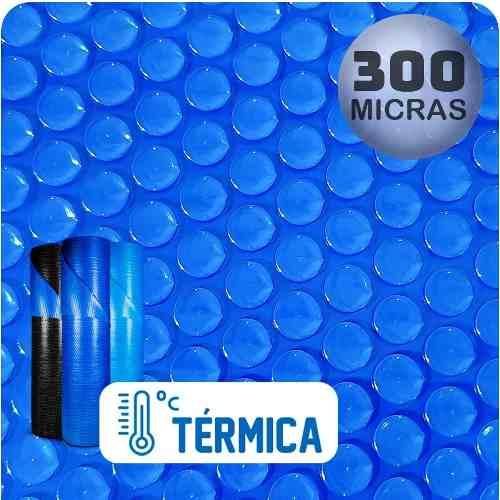 Capa Térmica Para Piscina 10,0 X 5,0m Aquecida Bolha Redonda Thermocap