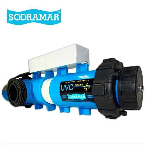 Tratamento De Agua Ultra Violeta 5,5 M³/h Para Piscina Sodramar