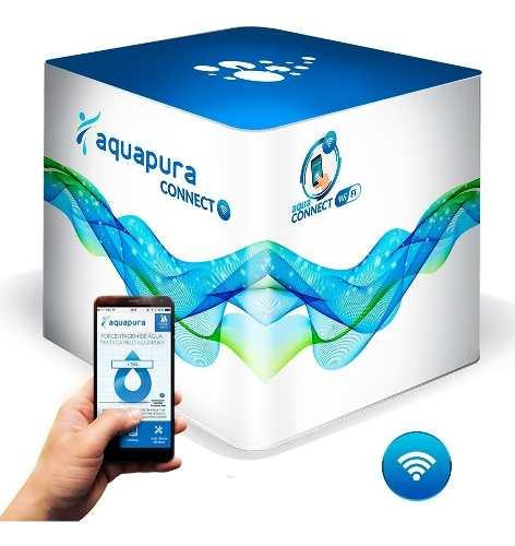 Ozonio Aquapura Connect P/ Tratamento Limpeza Caixas D´água