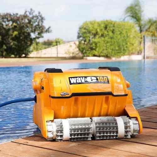 Robô Aspirador Automático Para Piscinas Comerciais Wave 100 Sodramar