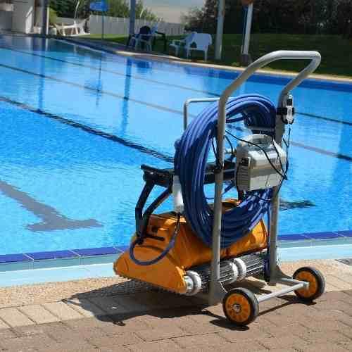 Robô Aspirador Automático Wave 100 2x2 Piscina Comercial 40m Sodramar