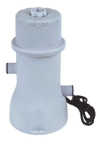 Bomba Filtro Para Piscina Infláveis 110v Mor 3600l/h