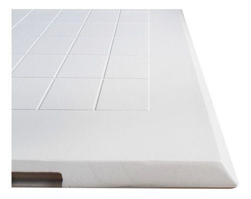 Tampa Para Casa De Máquinas Piscina Jardim Em Alumínio Branca 70x70 Cm Articulada