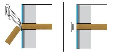 Dispositivo De Retorno em ABS Branco Para Piscinas De Alvenaria Pratic de Sobrepor 50 mm