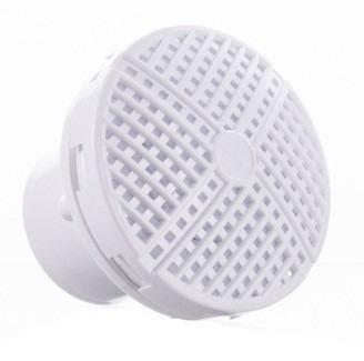 Dispositivo De Nivel Ralo Quebra Ondas Em Abs Branco Para Piscinas de Alvenaria e Fibra