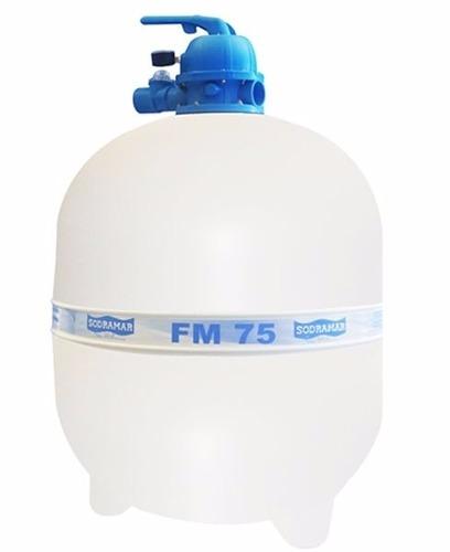 Kit Filtro Fm 75 Sodramar + Bomba Bm 150 Motor Weg 1,5 Cv