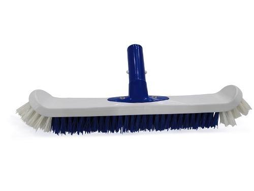 Kit para Limpeza Piscina Aspirador Peneira Escova E Teste Cl e pH