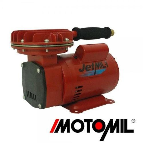 Kit Compressor De Ar Direto Jetmil Com Kit Bivolt (127 - 220V) Motomil