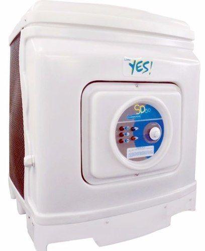 Trocador De Calor Aquecedor Para Piscina Sodramar Yes Sd 60 + Quadro de Comando Digital