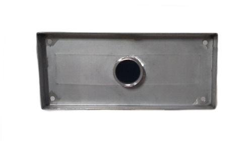 Cascata De Parede Para Piscina Em Aço Inox Boca De 29cm